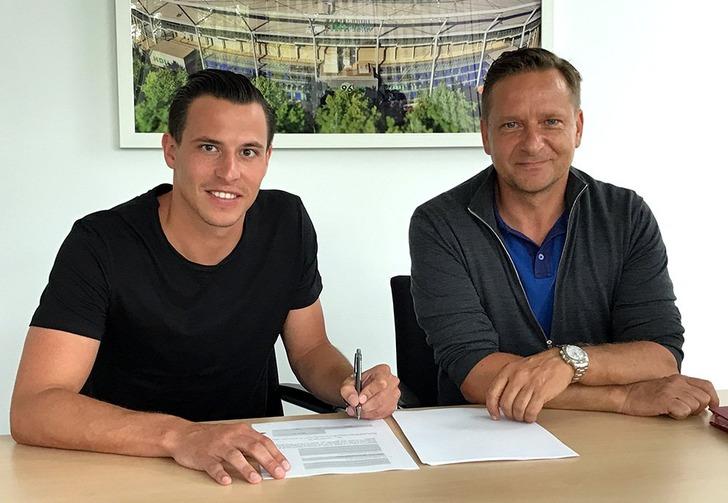 Эдгар Приб (слева), Hannover 96