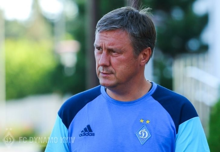 "Александр Хацкевич, ФК ""Динамо"" Киев"