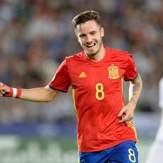 Испания U-21 благодаря хет-трику Сауля вышла в финал