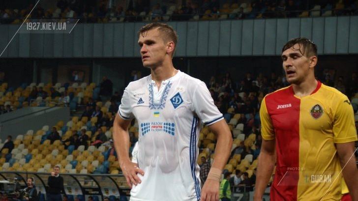 «Динамо» решило порвать  договор  сфутболистом сборной государства Украины
