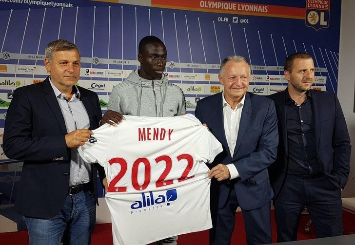 Ферлан Менди, Olympique Lyonnais