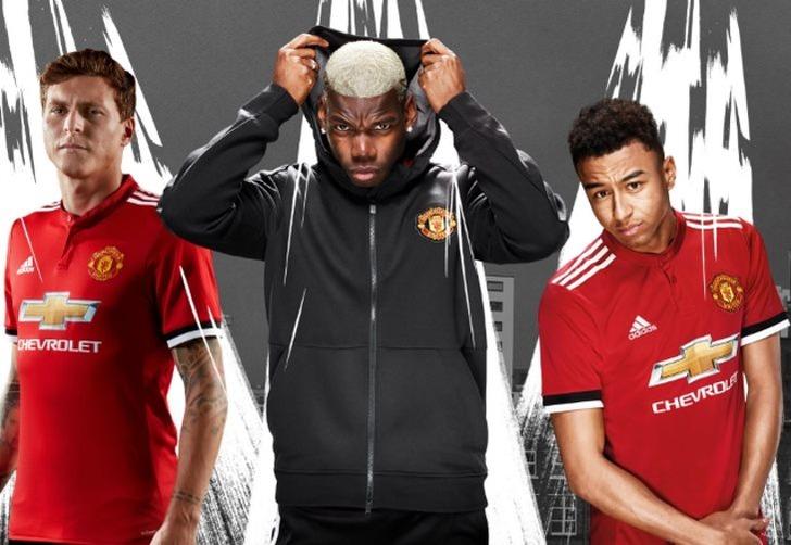 """Новая домашняя форма """"Манчестер Юнайтед"""", manutd.com"""