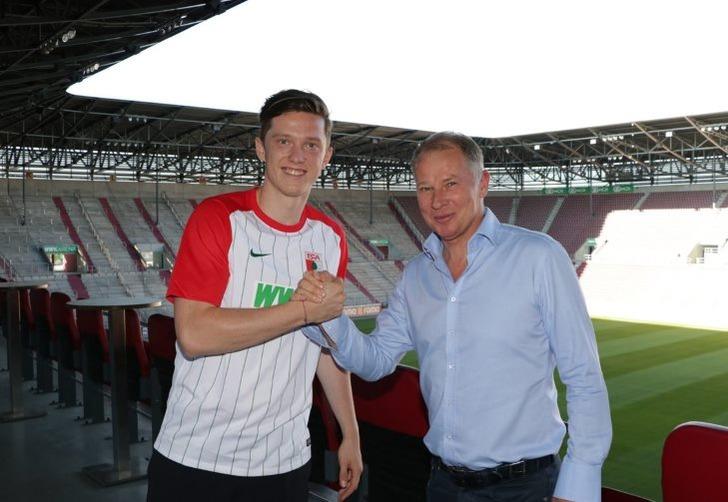 Михаэль Грегорич (слева), fcaugsburg.de