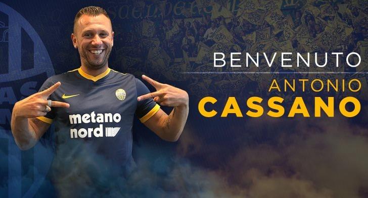 Антонио Кассано, hellasverona.it