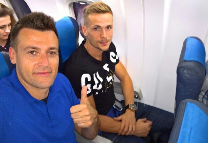 Томас Кендзера (справа); фото: твиттер F-Mg.com