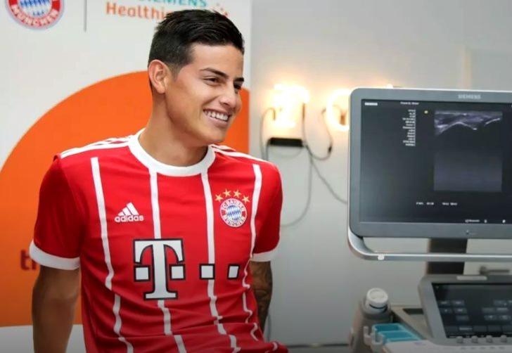 Хамес Родригес, fcbayern.com