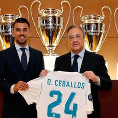 """""""Реал Мадрид"""" представил Дани Себальоса"""