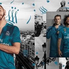 """""""Реал Мадрид"""" представил третью форму на сезон 2017/18"""