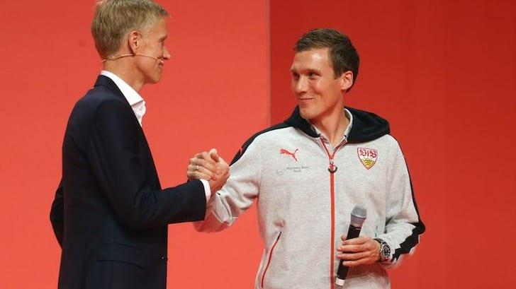 Ханнес Вольф (справа), vfb.de