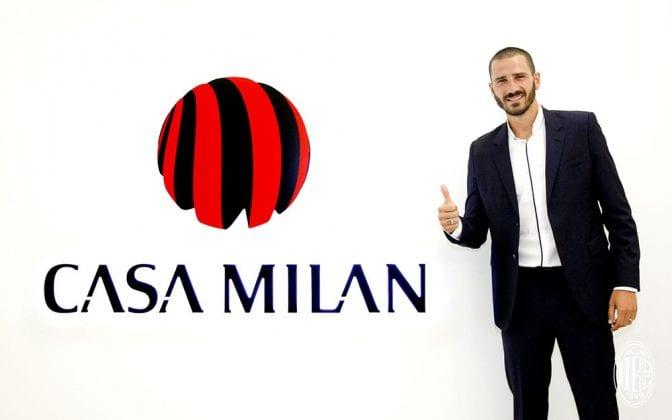 «Милан» вплоть доэтого времени незарегистрировал Бонуччи иБилью