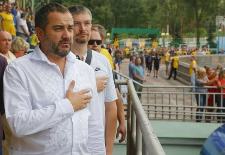 Президент ФФУ Андрей Павелко, fcmariupol.com