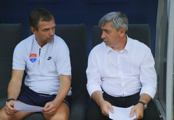 Александр Севидов (справа), facebook.com/fcmariupol