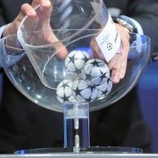 Результаты жеребьевки плей-офф Лиги чемпионов