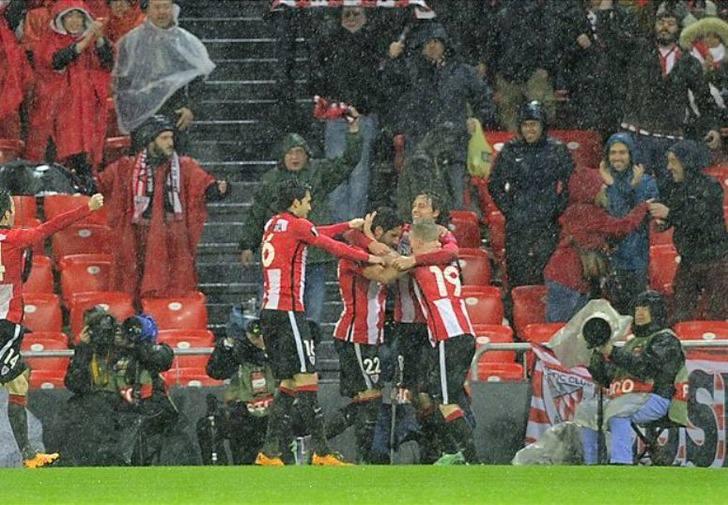 Рауль Гарсия - автор единственного гола в матче / Фото: Getty Images