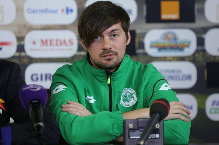 Артем Милевский на пресс-конференции / Фото: xsport.ua