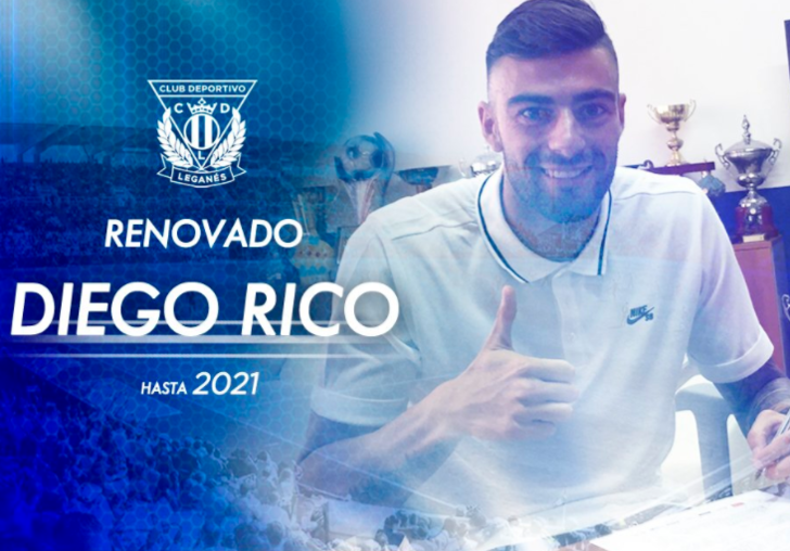 Диего Рико, twitter.com/CDLeganes