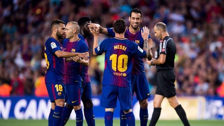 «Барселона» разгромила «Шапекоэнсе», выживший вавиакатастрофе Рушел сыграл 36 мин.