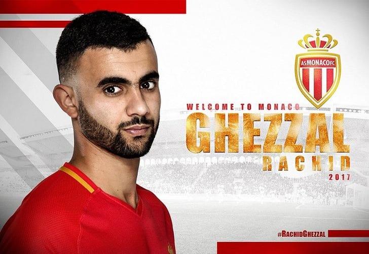 Рашид Геззаль, twitter.com/AS_Monaco