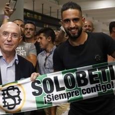 """Будебуз прибыл в Севилью для подписания контракта с """"Бетисом"""""""