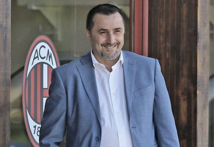"""Спортивный директор """"Милана"""" Массимо Мирабелли, acmilan.com"""