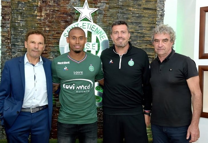 Габриэл Силва (второй слева), twitter.com/ASSEofficiel