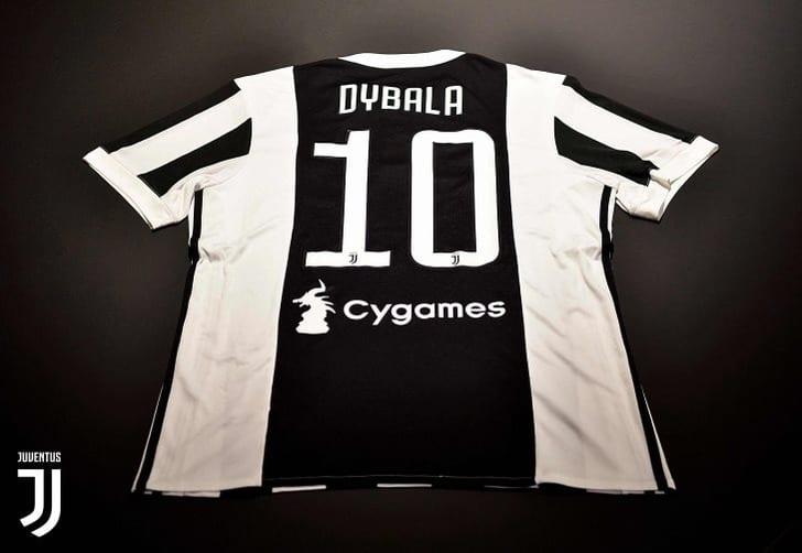 Футболка Пауло Дибалы, juventus.com