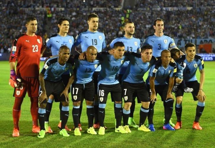 Сборная Уругвая по футболу, AFP