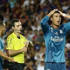 Роналду получил дисквалификацию на 5 матчей