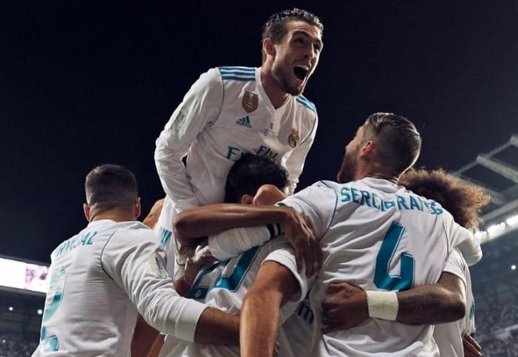 «Реал» победил «Барселону» изавоевал Суперкубок Испании