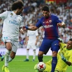 """Жерард Пике и Луис Суарес получили травмы в матче против """"Мадрида"""""""