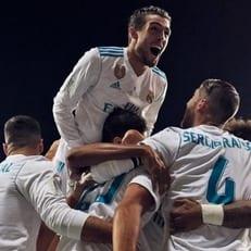 """""""Мадрид"""" обыграл """"Барселону"""" в ответном матче за Суперкубок Испании и взял трофей"""