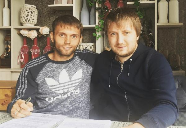 Караваев подпишет с«Зарей» полноценный контракт