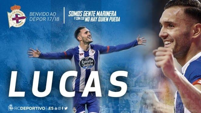 «Депортиво» объявил овозвращении Лукаса Переса из«Арсенала»