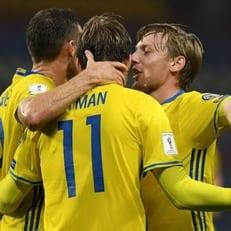 Шведы разгромили Беларусь