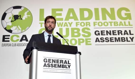 Президент «Ювентуса» Аньелли стал главой Ассоциации европейских клубов