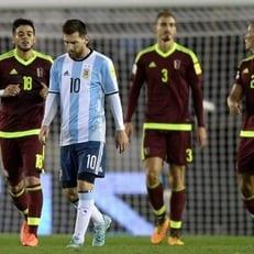 Аргентина не сумела обыграть Венесуэлу