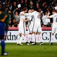 Новая Зеландия оформила выход в плей-офф отборочного цикла ЧМ-2018