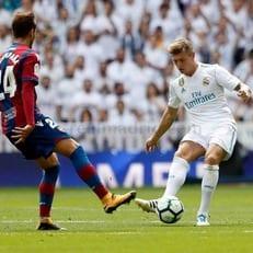 """Тони Кроос провел 100-й матч за """"Реал Мадрид"""" в Примере"""
