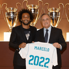 """""""Реал Мадрид"""" объявил о продлении контракта с Марсело"""