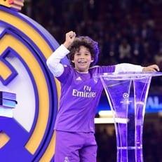"Сын Марсело забил хет-трик за детскую команду ""Реала Мадрида"""