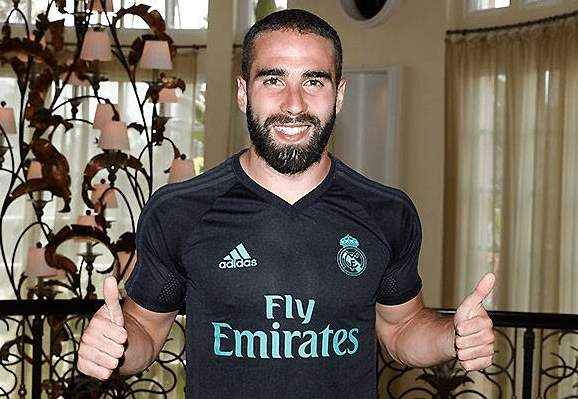 Карвахаль подписал новый договор  с«Реалом»