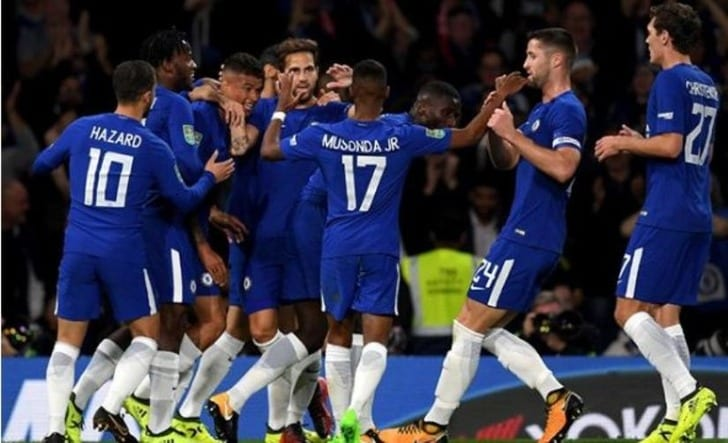 «Челси», «Эвертон» и«Арсенал» вышли в4-й раунд Кубка британской лиги