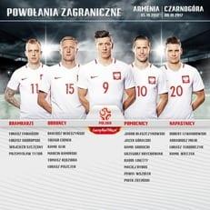 Польша огласила заявку на матчи против Армении и Чернагории