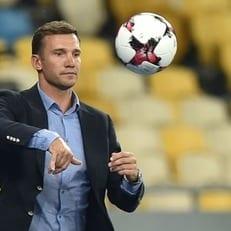 Шевченко: позиция нападающего - самая слабая в сборной Украины