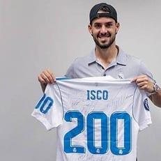 "Иско сыграл 200 матчей за ""Реал Мадрид"""