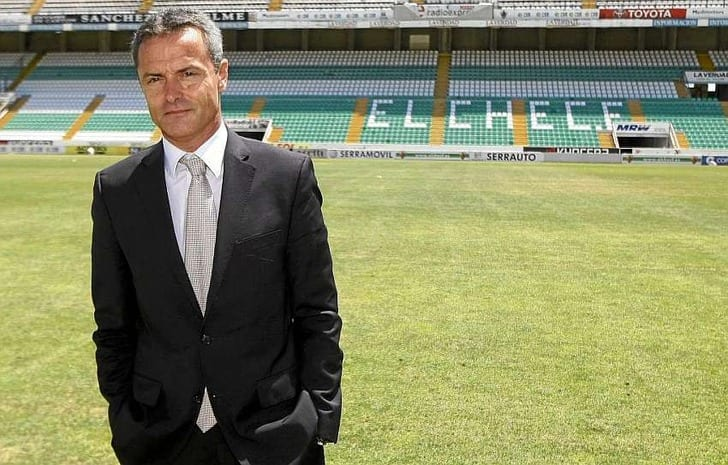 Главный тренер «Вильярреала» отправлен вотставку