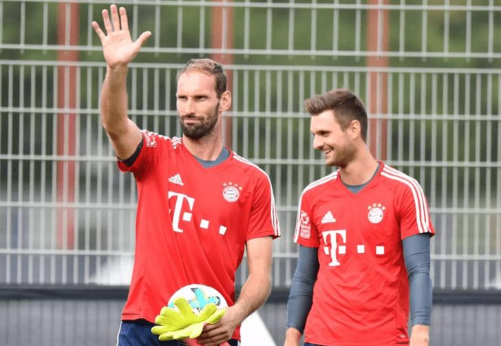 «Бавария» сообщила Штарке наЛигу чемпионов