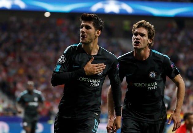 «Челси» вырвал победу у«Атлетико»