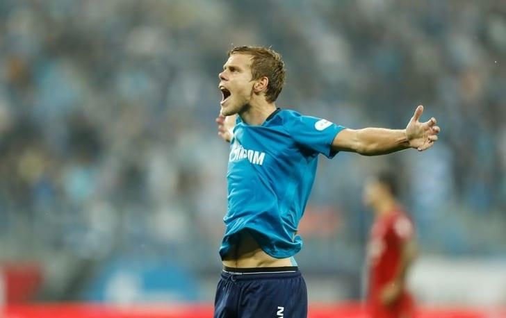 Кокорин признан лучшим футболистом недели вЛиге Европы