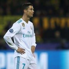 Роналду признан лучшим игроком недели в ЛЧ